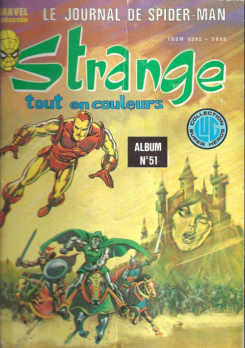 Couverture de Strange -Rec051- Album N°51 (du n°152 au n°154)