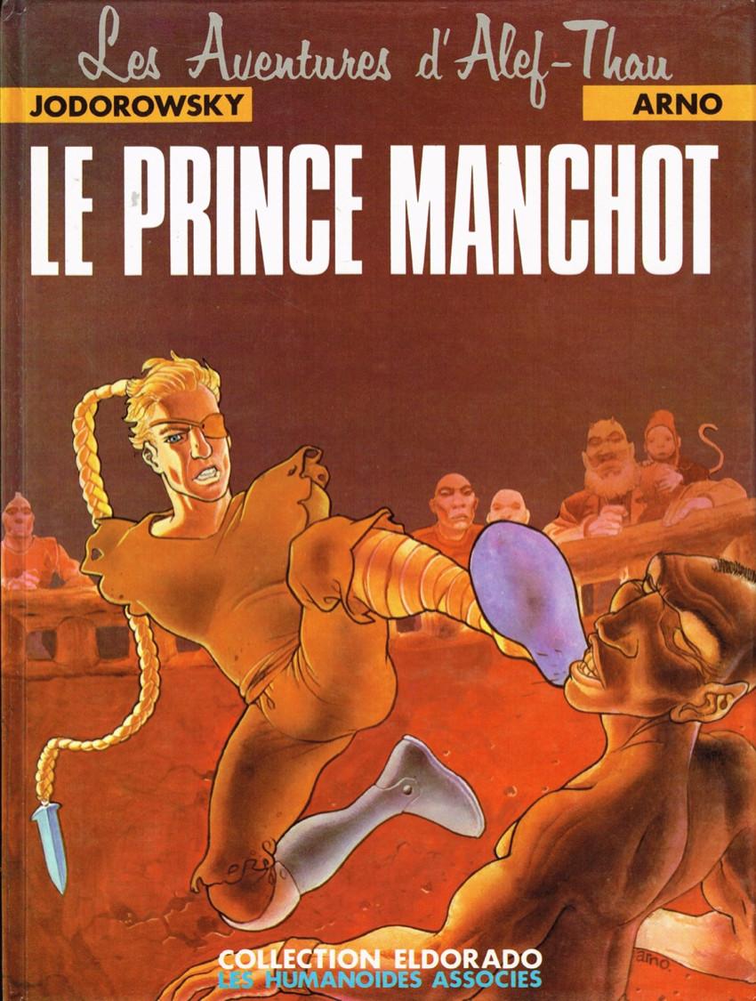 Couverture de Les aventures d'Alef-Thau -2- Le prince manchot