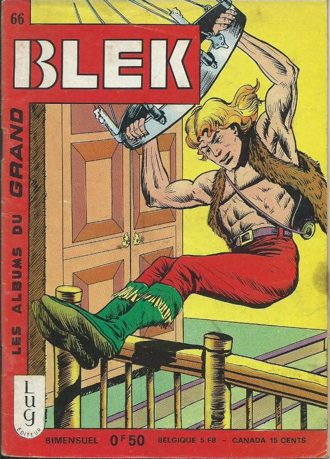 Couverture de Blek (Les albums du Grand) -66- Numéro 66