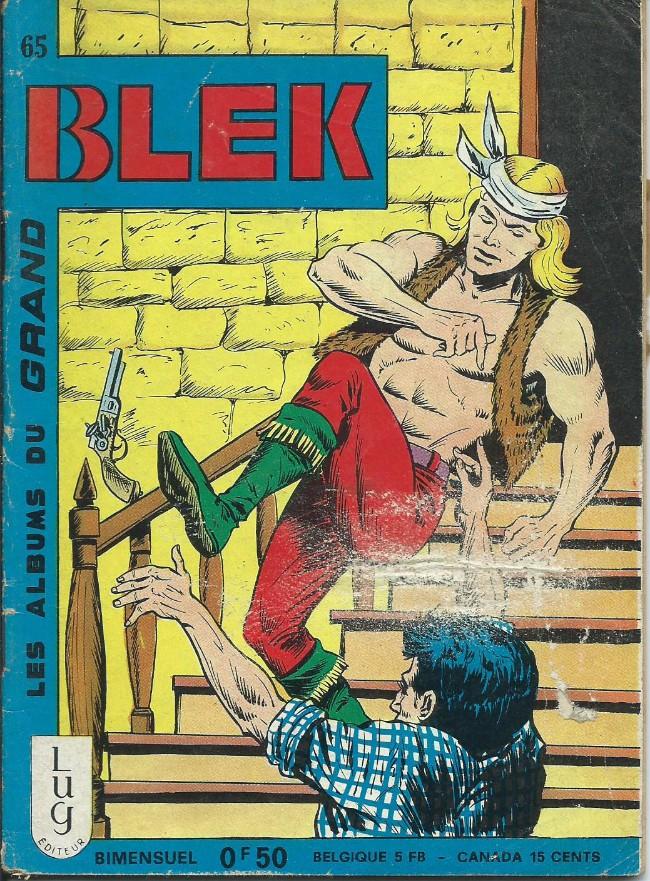 Couverture de Blek (Les albums du Grand) -65- Numéro 65
