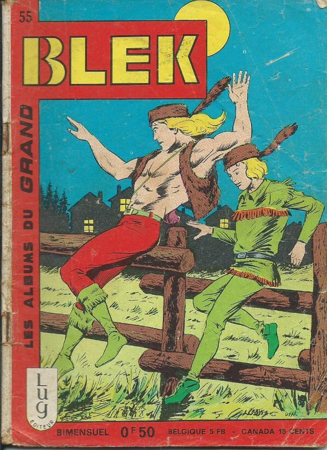 Couverture de Blek (Les albums du Grand) -55- Numéro 55