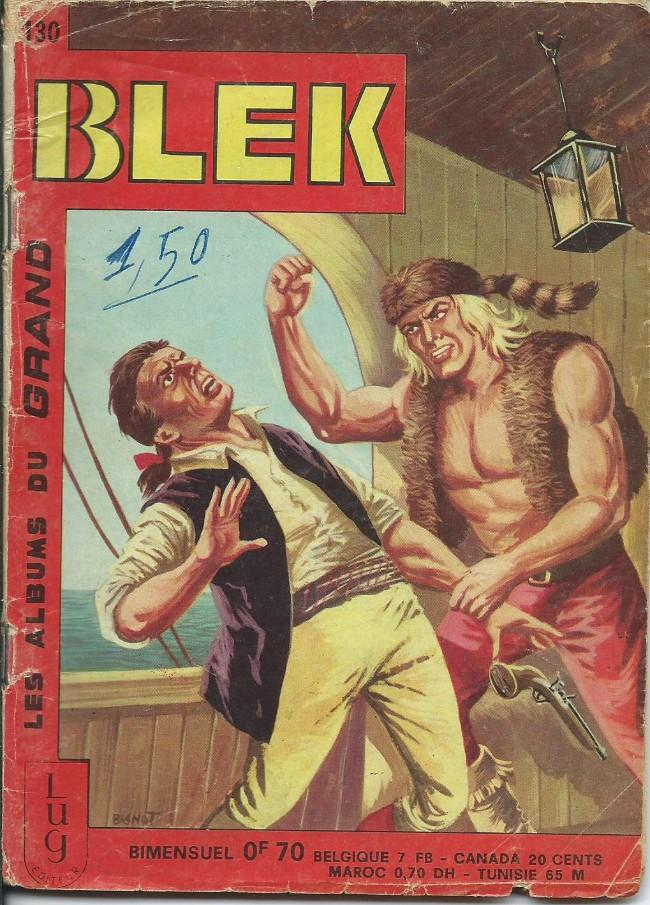 Couverture de Blek (Les albums du Grand) -130- Numéro 130