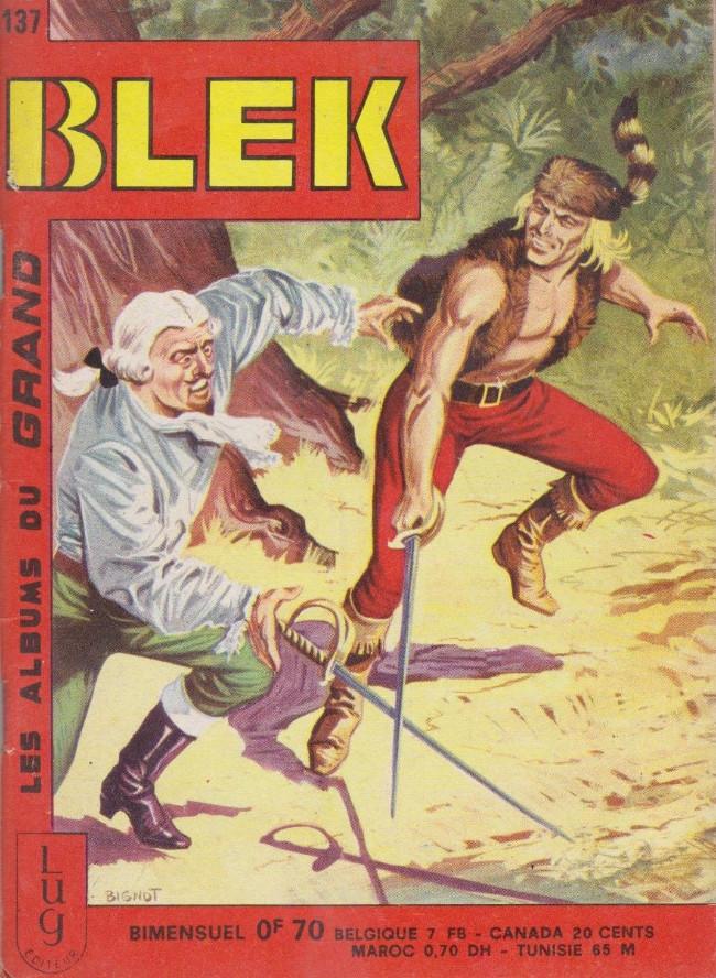 Couverture de Blek (Les albums du Grand) -137- Numéro 137