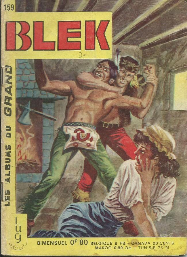 Couverture de Blek (Les albums du Grand) -159- Numéro 159