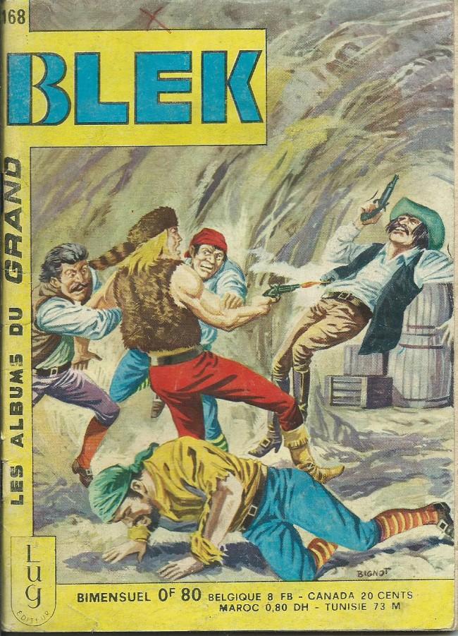 Couverture de Blek (Les albums du Grand) -168- Numéro 168