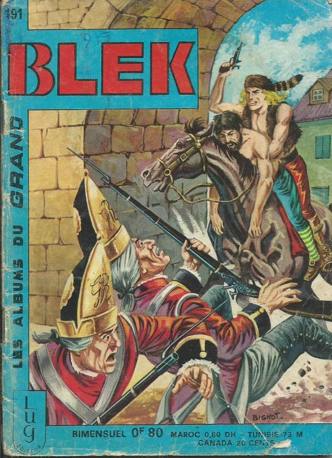 Couverture de Blek (Les albums du Grand) -191- Numéro 191