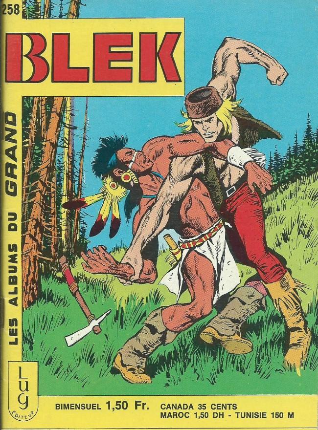 Couverture de Blek (Les albums du Grand) -258- Numéro 258