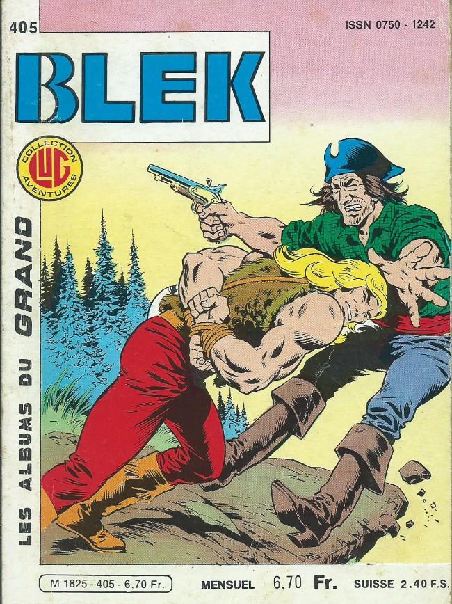 Couverture de Blek (Les albums du Grand) -405- Numéro 405