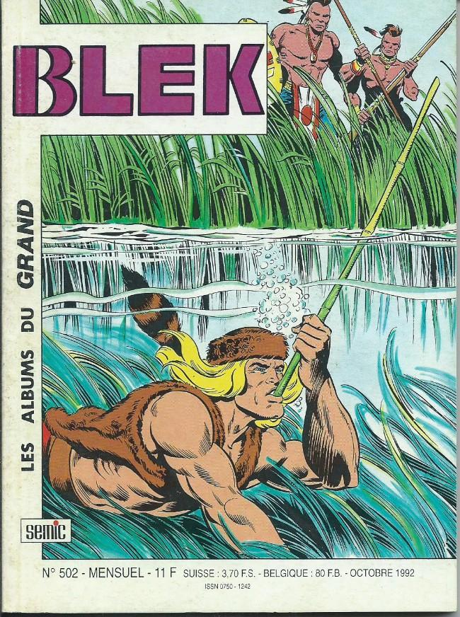 Couverture de Blek (Les albums du Grand) -502- Numéro 502