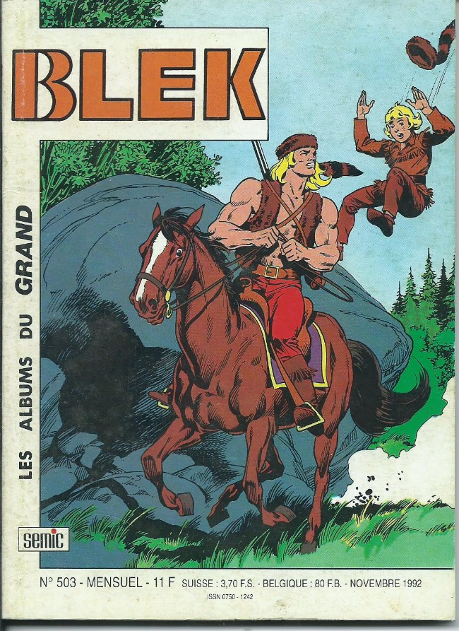Couverture de Blek (Les albums du Grand) -503- Numéro 503