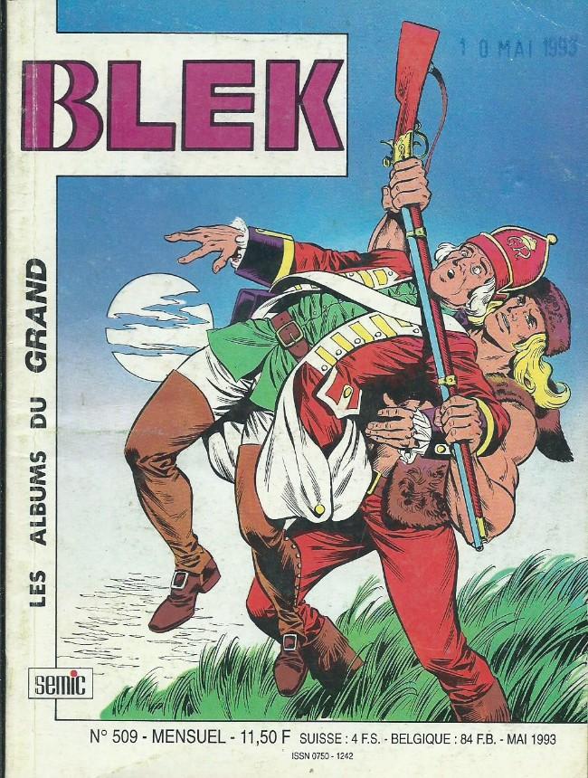 Couverture de Blek (Les albums du Grand) -509- Numéro 509
