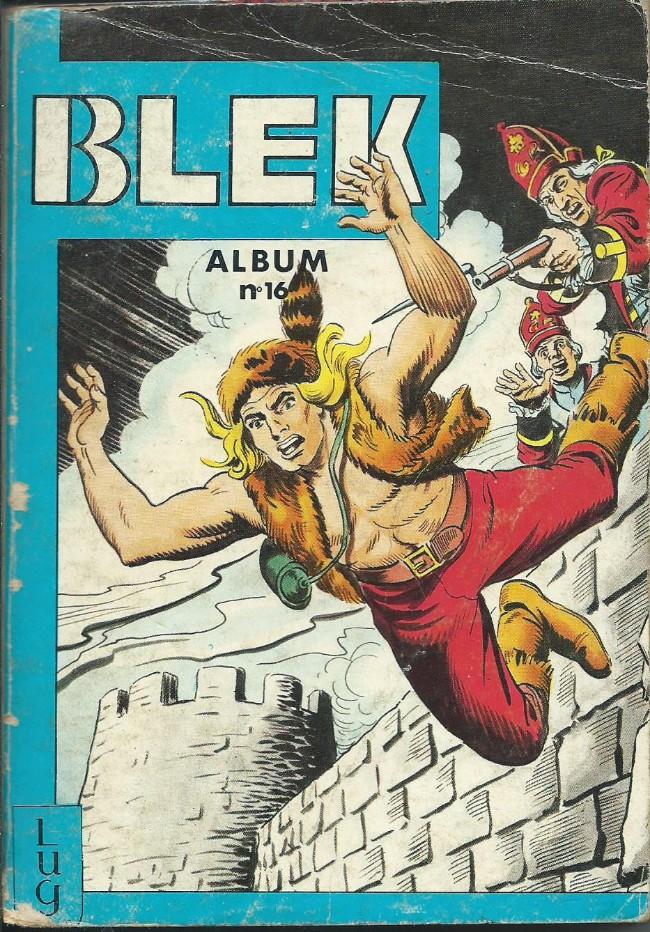 Couverture de Blek (Les albums du Grand) -Rec16- Album N°16 (du n°246 au n°251)