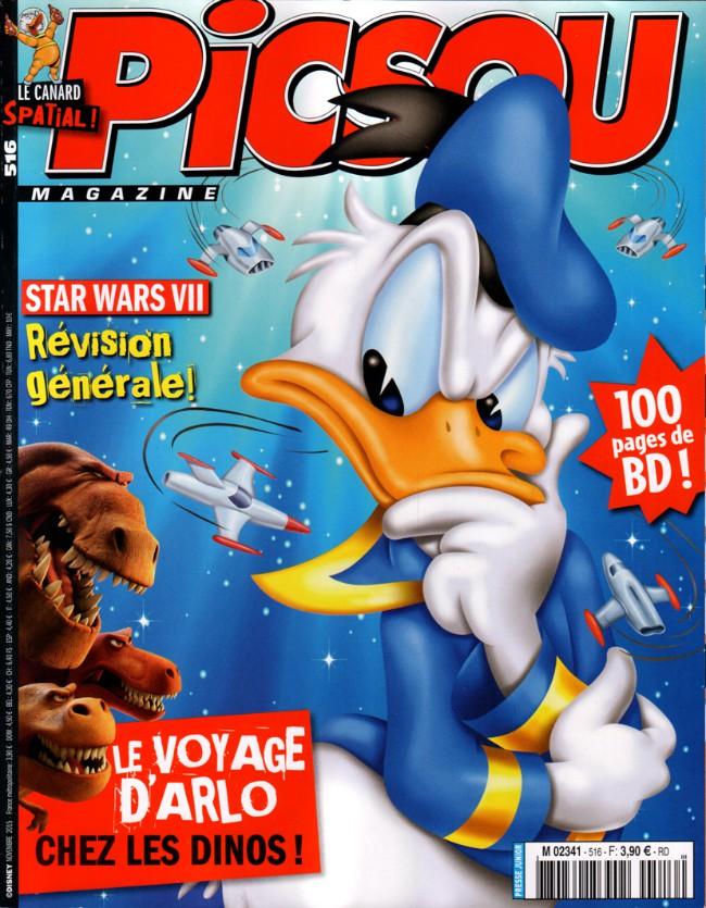 Couverture de Picsou Magazine -516- Picsou Magazine n° 516