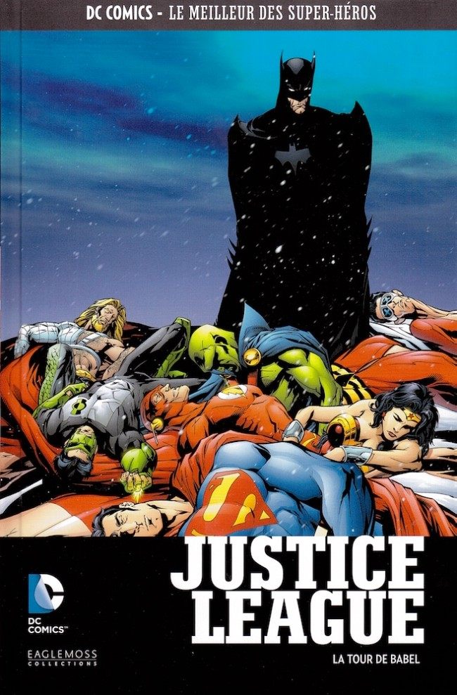Couverture de DC Comics - Le Meilleur des Super-Héros -6- Justice League - La Tour de Babel