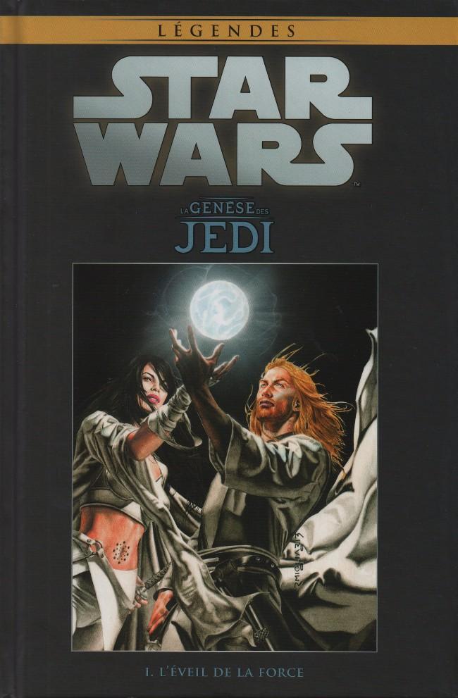 Couverture de Star Wars - Légendes - La Collection (Hachette) -11- La Genèse des Jedi - I. L'Éveil de la Force