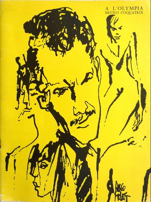 Couverture de (AUT) Pratt, Hugo - A l'olympia