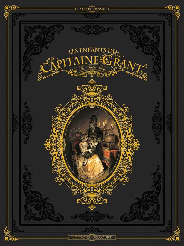 Couverture de Les enfants du Capitaine Grant (Nesme) -INT- Intégrale