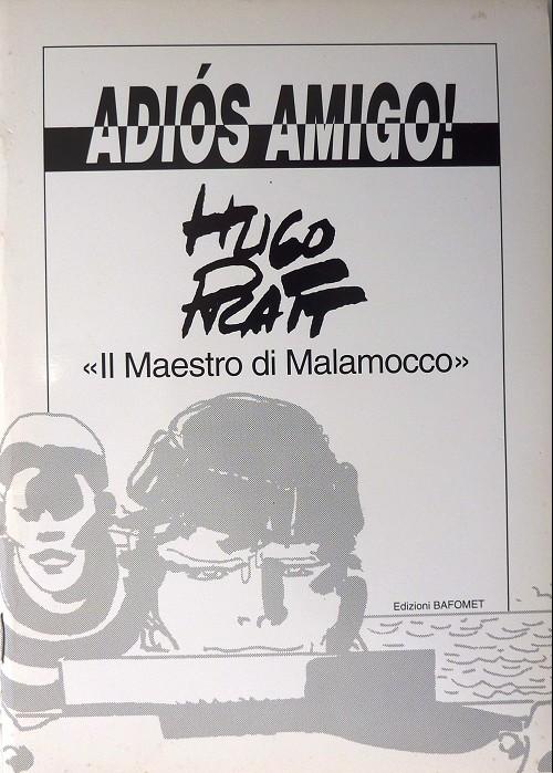 Couverture de (AUT) Pratt, Hugo (en italien) -CAT- Adios amigo !