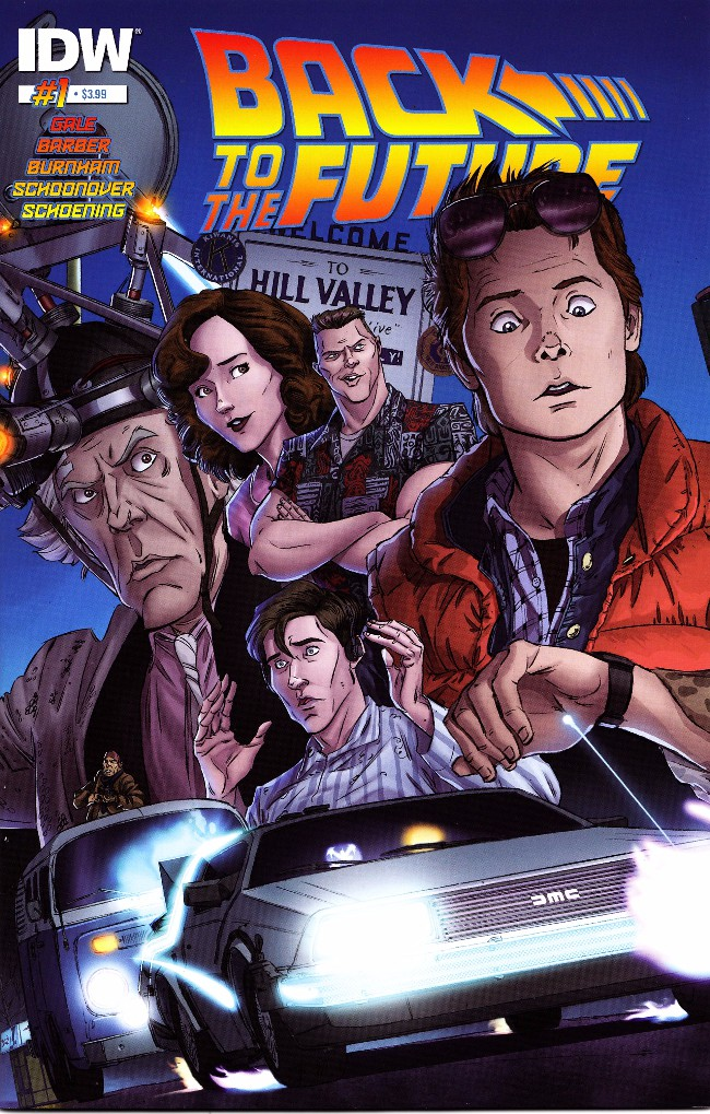 Couverture de Back to the Future (2015) -1- Untold Tales and Alternate Timelines