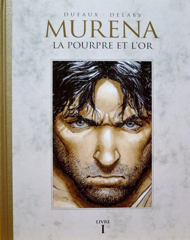 Couverture de Murena (Le Soir) -1Livre I- La pourpre et l'or