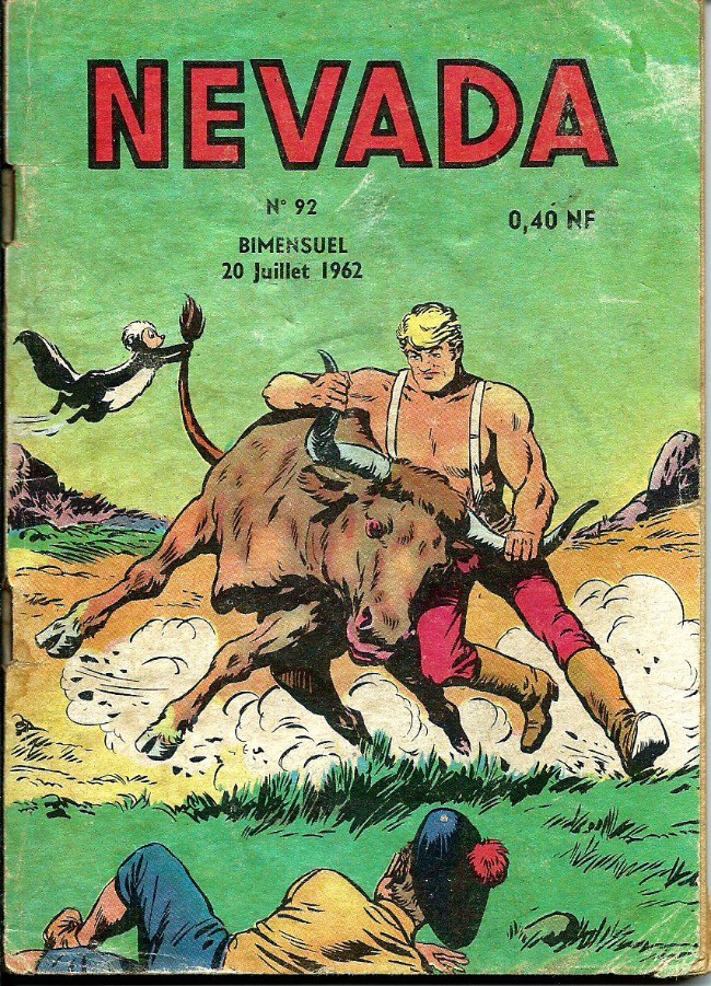 Couverture de Nevada (LUG) -92- Numéro 92