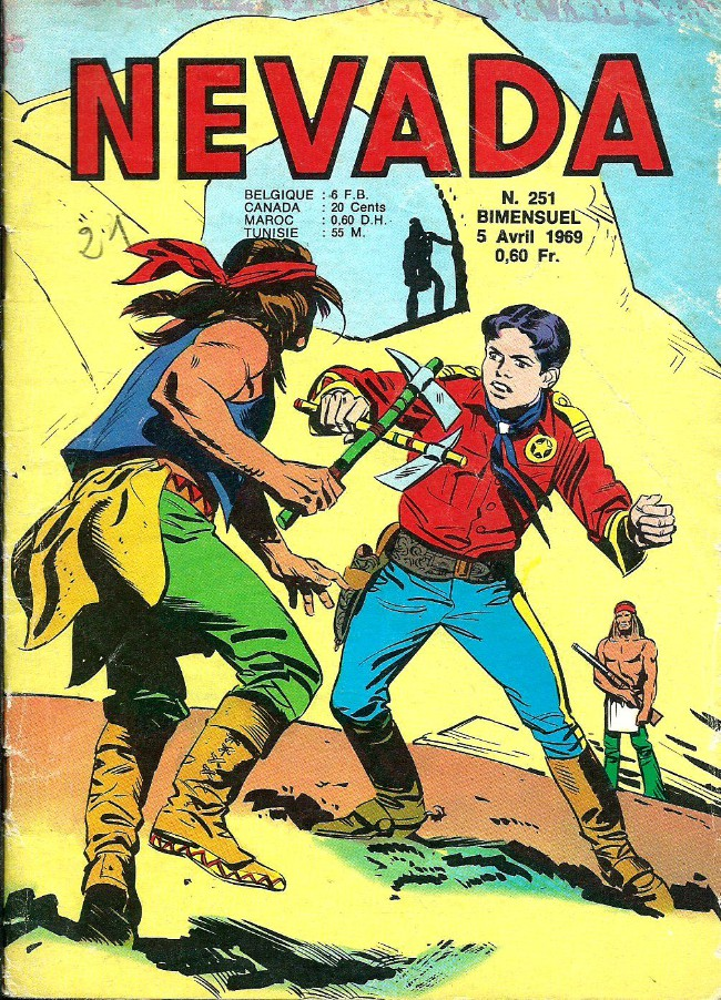 Couverture de Nevada (LUG) -251- Numéro 251