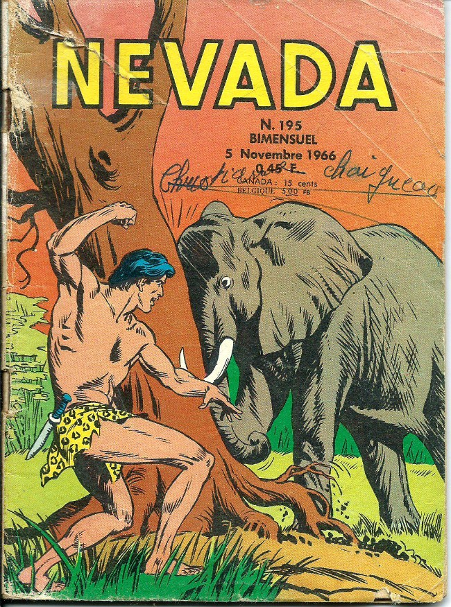 Couverture de Nevada (LUG) -195- Numéro 195