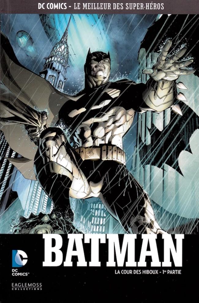 Couverture de DC Comics - Le Meilleur des Super-Héros -7- Batman - La Cour des hiboux - 1re partie