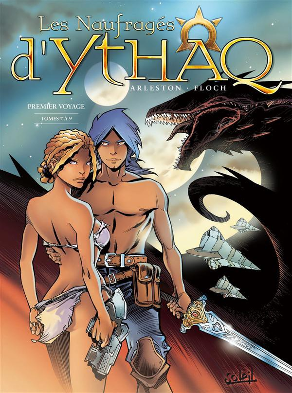 Couverture de Les naufragés d'Ythaq -INT3- Premier Voyage - Tomes 7 à 9