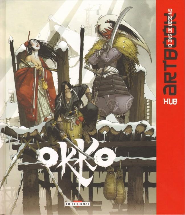Couverture de Okko -HS- Artbook, 10 ans de dessins