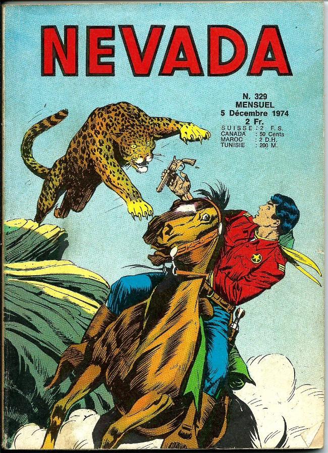Couverture de Nevada (LUG) -329- Numéro 329