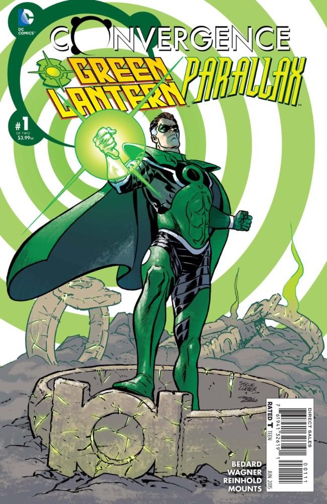 Couverture de Convergence Green Lantern/Parallax (2015) -1- Crime and Punishment