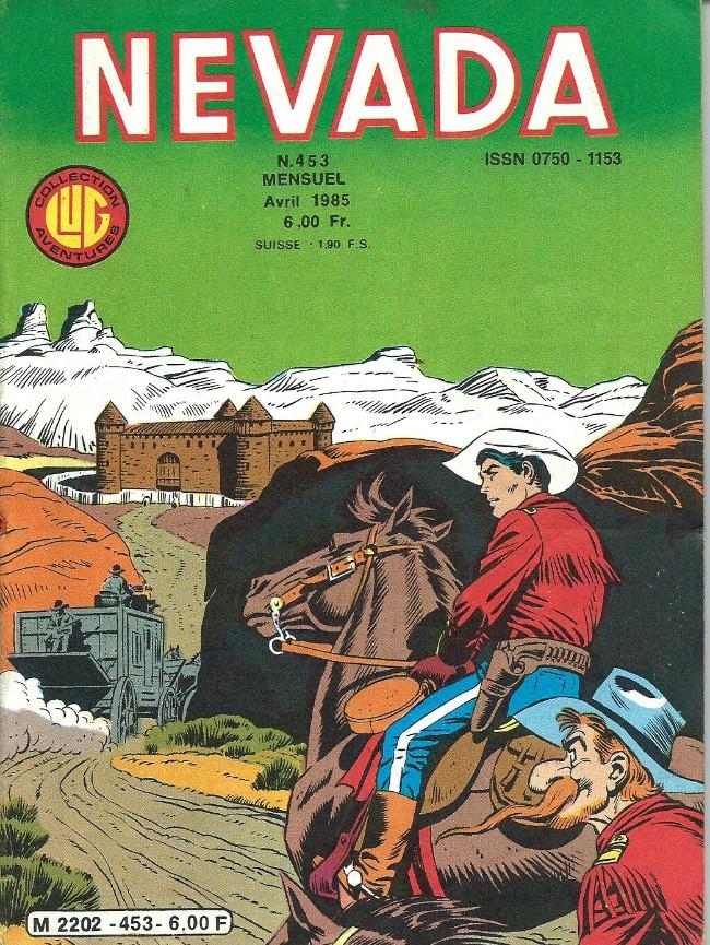Couverture de Nevada (LUG) -453- Numéro 453