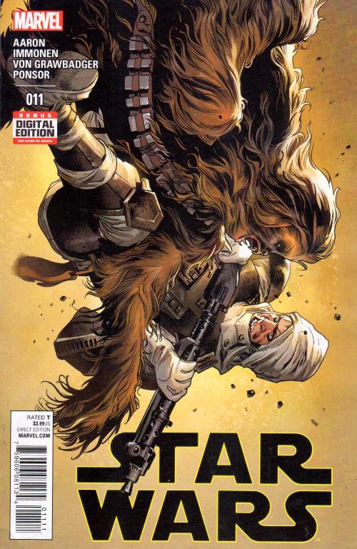Couverture de Star Wars Vol.2 (Marvel comics - 2015) -11- Book II, Part IV : Showdown On The Smugglers' Moon