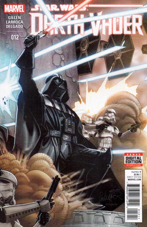 Couverture de Darth Vader (2015) -12- Book II, Part VI : Shadows And Secrets