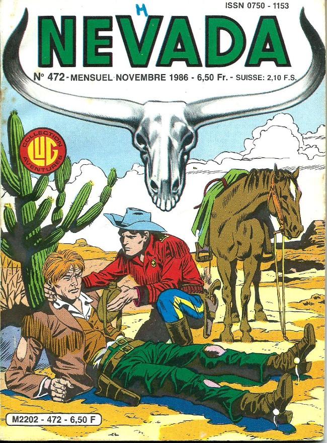 Couverture de Nevada (LUG) -472- Numéro 472