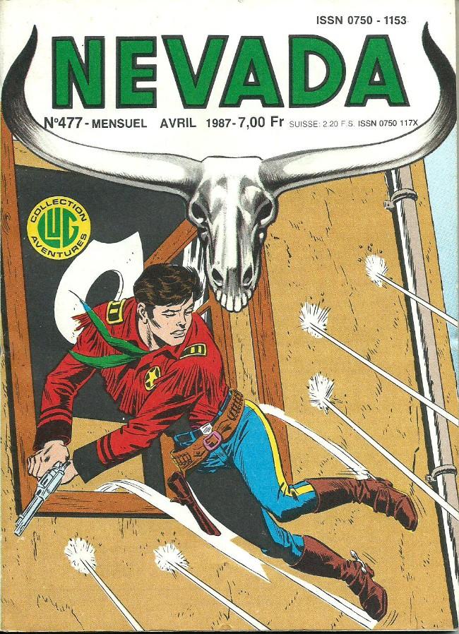 Couverture de Nevada (LUG) -477- Numéro 477