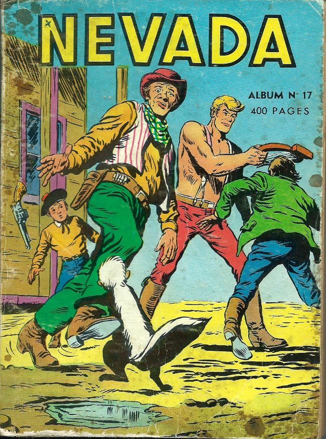 Couverture de Nevada (LUG) -Rec17- Album N°17 (du n°95 au n°100)