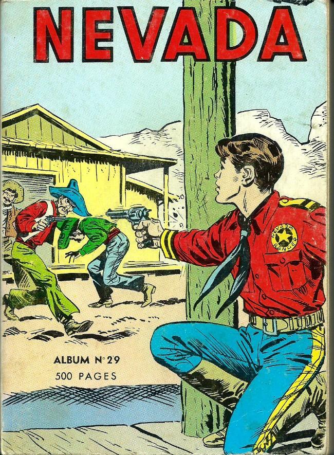 Couverture de Nevada (LUG) -Rec29- Album N°29 (du n°227 au n°234)