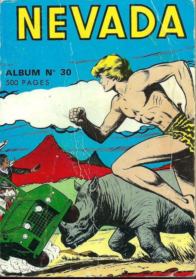 Couverture de Nevada (LUG) -Rec30- Album N°30 (du n°235 au n°242)