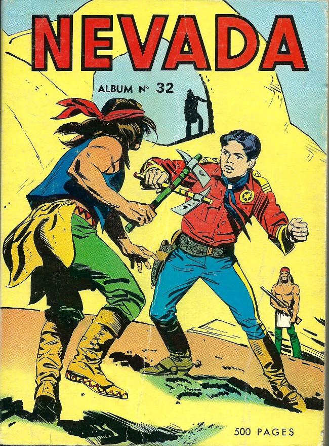 Couverture de Nevada (LUG) -Rec32- Album N°32 (du n°251 au n°258)