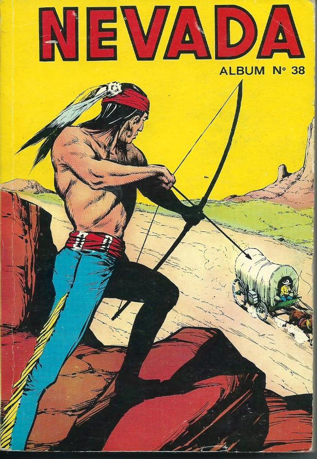 Couverture de Nevada (LUG) -Rec38- Album N°38 (du n°283 au n°286)