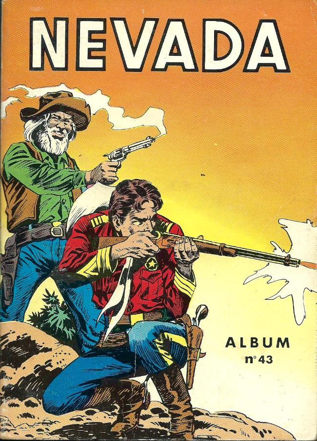Couverture de Nevada (LUG) -Rec43- Album N°43 (du n°303 au n°306)