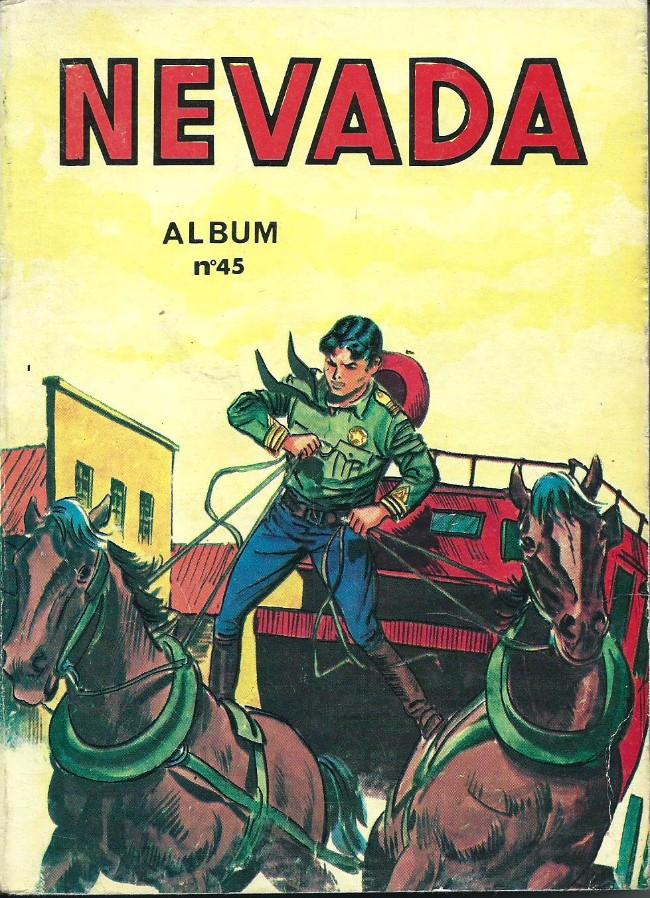 Couverture de Nevada (LUG) -Rec45- Album N°45 (du n°311 au n°314)