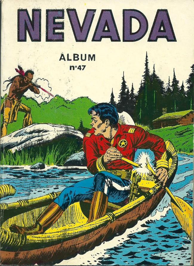 Couverture de Nevada (LUG) -REC47- Album N°47 (du n°319 au n°322)