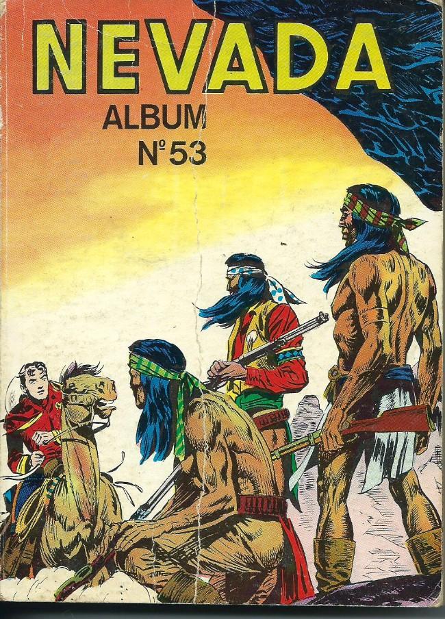 Couverture de Nevada (LUG) -Rec53- Album n°53 (du n°343 au n°346)