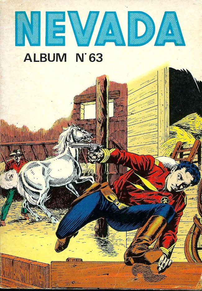 Couverture de Nevada (LUG) -Rec63- Album N°63 (du n°383 au n°386)