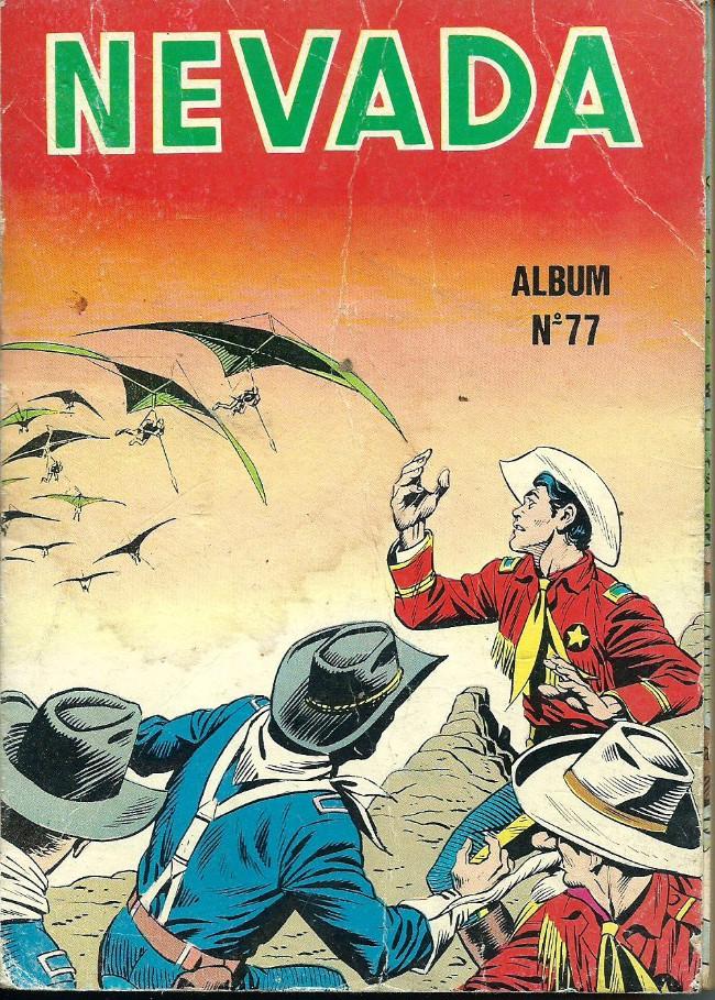 Couverture de Nevada (LUG) -Rec77- Album N°77 (du n°428 au n°430)