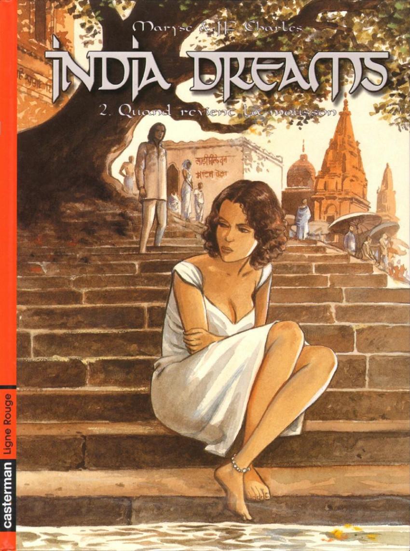 Couverture de India dreams -2- Quand revient la mousson