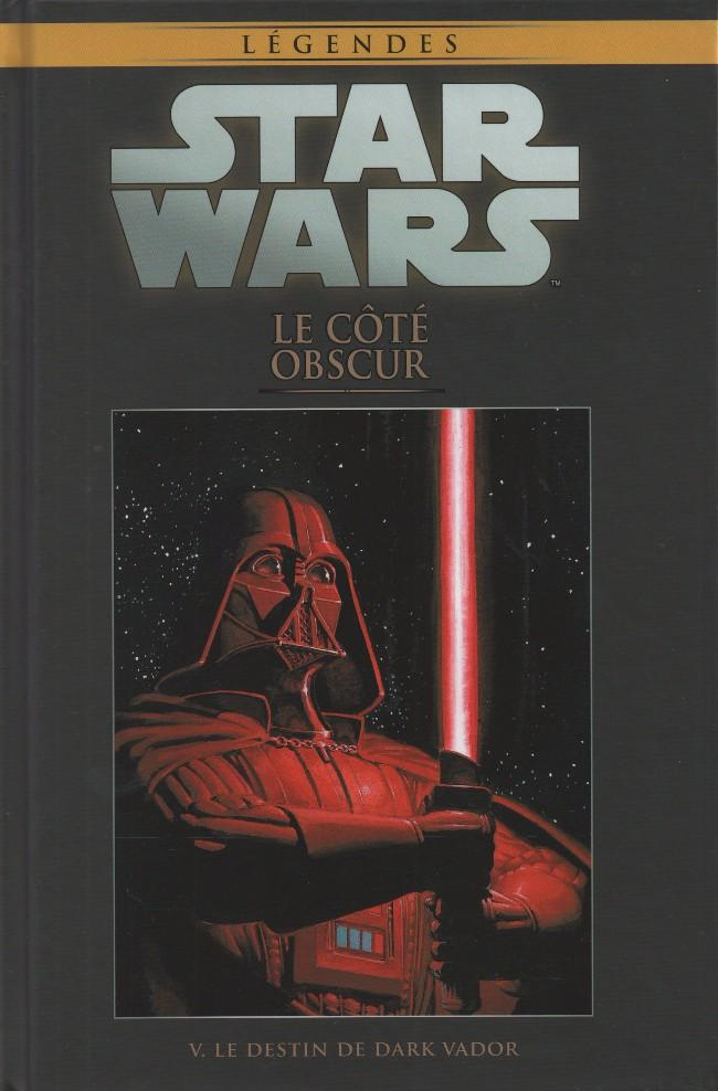 Couverture de Star Wars - Légendes - La Collection (Hachette) -2V- Le Côté Obscur - V. Le destin de Dark Vador